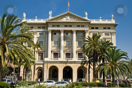 Military government stock photo, The military government of barcelona by Alexander L?