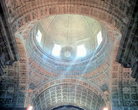Monfero Cathedral  stock photo, Monfero Cathedral Galicia, Spain by Waldy Wisniewski