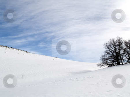 Snow Hill stock photo, Roxborough State Park by John McLaird