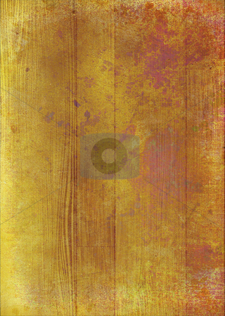 Grunge wood stock photo, Abstract mottled wooden background ideal to place text over by Michael Travers