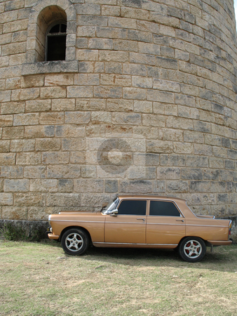Brown car stock photo, Brown car by Mbudley Mbudley