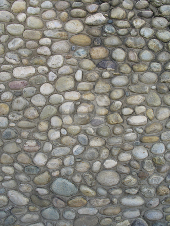 Gray old stone background stock photo, Gray old stone background by Mbudley Mbudley