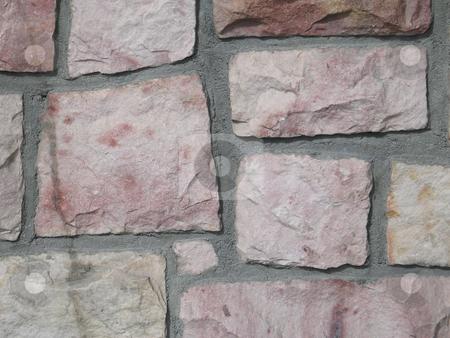 Grey old stone background stock photo, Grey old stone background by Mbudley Mbudley