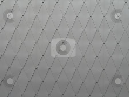 Grey metal diamond background stock photo, Grey metal diamond background by Mbudley Mbudley