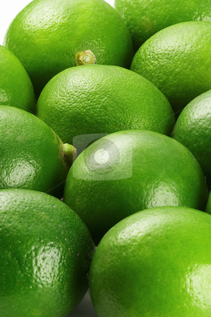 Lime stock photo, Bounch of vivid green fresh lime view from close up by Francesco Perre