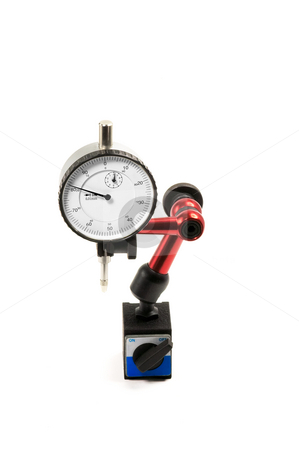 Measurement instrument stock photo, Precision mesurement instrument isolated on white background by Francesco Perre
