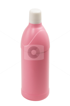 Coulored plastic bottle stock photo, Coulored plastic bottle isolated on white background by Francesco Perre