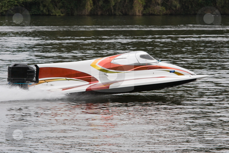 Formula one racing stock photo, A formula 1 racecraft on the water by Nicholas Rjabow