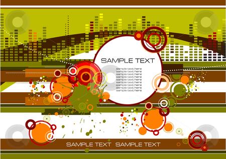 Grunge industrial background stock vector clipart, Grunge industrial background illustration by Leonid Dorfman