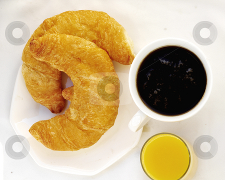 Couissant in the Morning stock photo, Early morning breakfast by Timothy OLeary