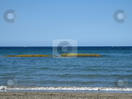 Blue ocean seascape stock photo, Blue ocean seascape by Mbudley Mbudley