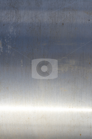 Metal texture stock photo, A close up picture of metal pipe by Glen Jones