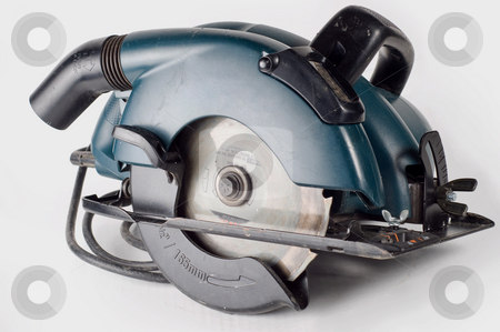 Circular saw, carpenters tool stock photo, Most common of all power tools by RCarner Photography