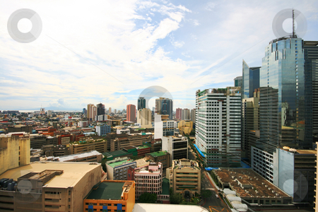Cityscape 2 stock photo, Colorful cityscape at makati business area by Jonas Marcos San Luis