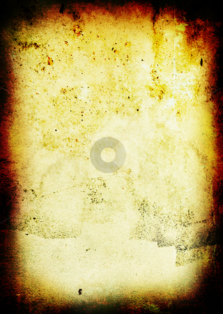 Grunge dapple stock photo, Warm grunge aged gothic background with copy space by Michael Travers