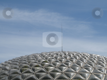 Glass dome stock photo, Glass dome by Mbudley Mbudley