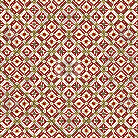 Tile Pattern stock vector clipart, Tile Pattern by Adrian Sawvel