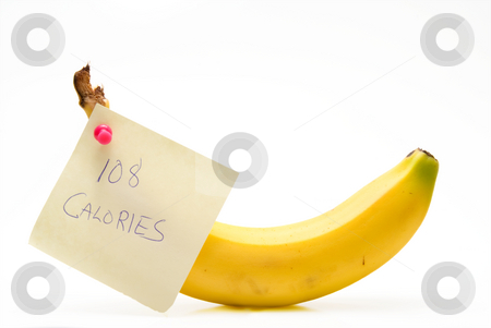 Wholesome Banana stock photo, A fresh wholesome and deliciously healthy banana. by Robert Byron