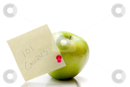 Wholesome Apple stock photo, A delicious, healthy and wholesome green Granny Smith apple. by Robert Byron