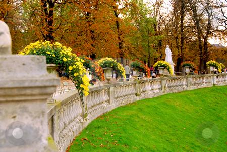 Jardins du Luxembourg stock photo, Jardins du Luxembourg (Luxembourg gardens) in Paris, France by Elena Elisseeva