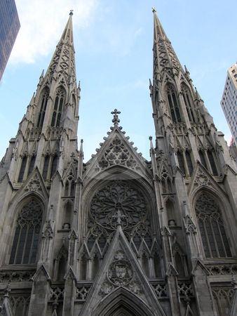 St Patrick's Cathedral in New York City stock photo,  by Ritu Jethani