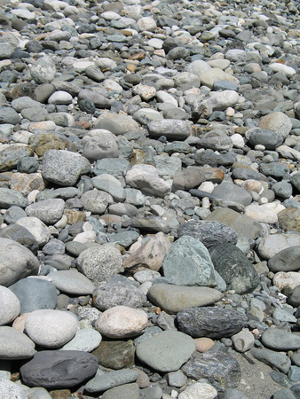 Polished stones stock photo, Polished stones by Mbudley Mbudley