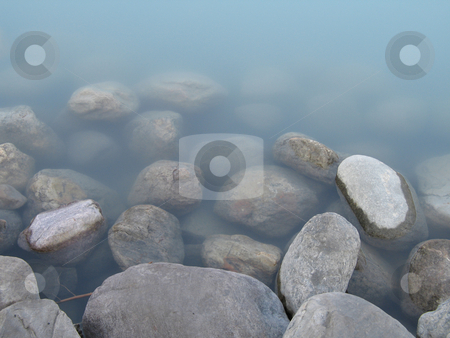 Rocks & water stock photo,  by Mbudley Mbudley