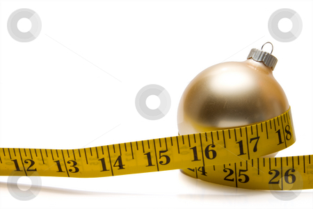 Holiday Dieting stock photo, The concept of dieting during the Christmas holidays. by Robert Byron