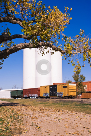 Train depot stock photo,  by RCarner Photography