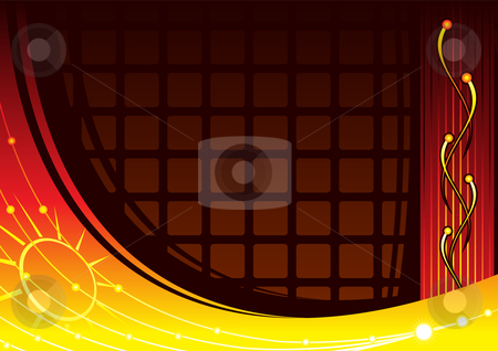 Laboratory background stock vector clipart, Science from physics laboratory on modern background by Oxygen64