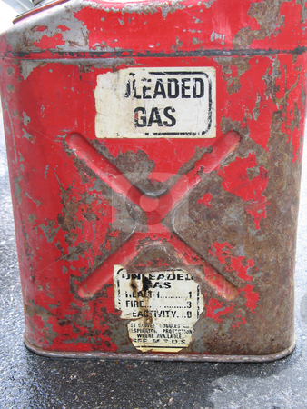 Gas can stock photo, Gas can by Mbudley Mbudley