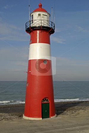 Lighthouse stock photo, Lighthouse in the Netherands by Gert-Jan Kappert