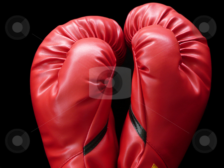 Boxing Gloves stock photo,  by Corinna Walby