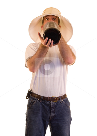 Binge Drinker stock photo, A young man drinking alcohol from a giant bottle by Richard Nelson