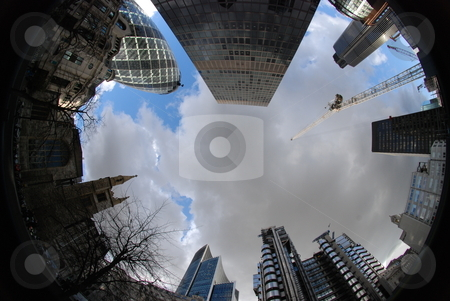 The city stock photo, London sky line by Gordon Nimmo