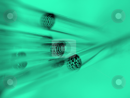 Chemical glass tubes in green stock photo, Test tubes with liquid and shallow depth of field by Laurent Dambies