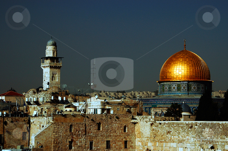 Jerusalem stock photo, The old city of jerusalem in israel by Kobby Dagan