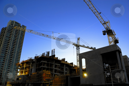 Construction Site stock photo, Construction Site by Craig Steven Thrasher