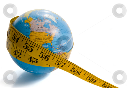 Obese World stock photo, The concept of the overwhelming issue of worldwide obesity. by Robert Byron