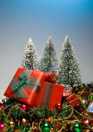 Christmas Presents stock photo, Seasonal presents given during the Christmas season. by Robert Byron