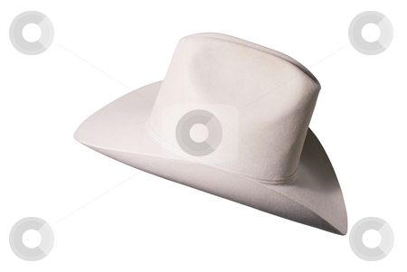 American style cowboy hat stock photo, Nice quality cowboy hat, rated triplex beaver felt by RCarner Photography