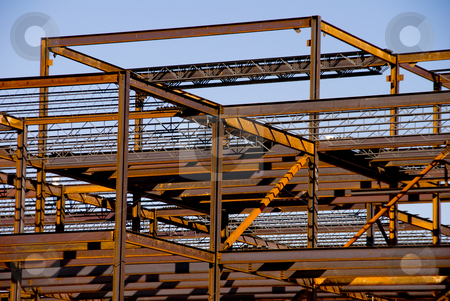 similar images steel building frame construction