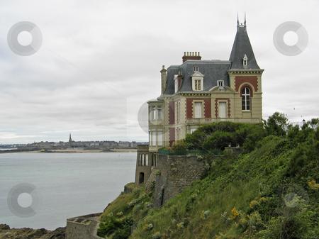 Villa near Dinard, Brittany, Northern France stock photo, Villa near Dinard, Brittany, Northern France by Lothar Hinz