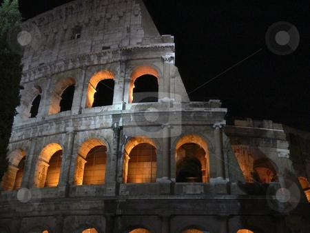 Rome, Colosseo, Flavian Amphitheatre stock photo, Rome, Colosseo, Flavian Amphitheatre by Lothar Hinz