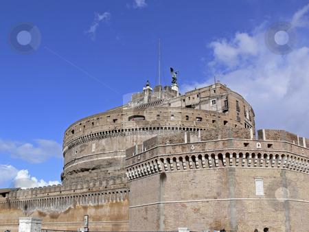 Rome, Mousoleum of Haldrian, Castel San't Angelo, Italy stock photo, Rome, Mousoleum of Haldrian, Castel San't Angelo, Italy by Lothar Hinz