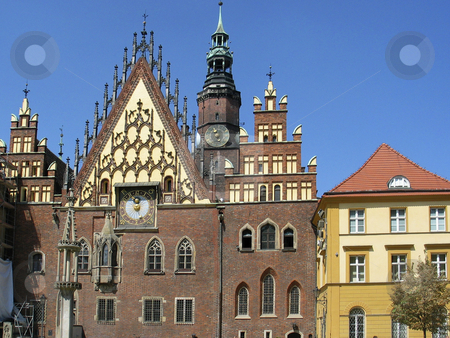 Wroclaw, Town hall, Poland stock photo, Wroclaw, Town hall, Poland by Lothar Hinz