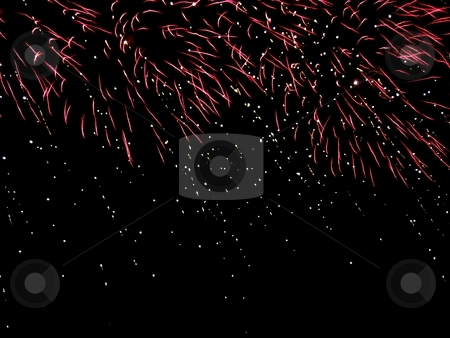 Fireworks stock photo, Firework display by Waldy Wisniewski