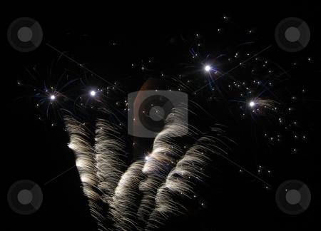 Fireworks stock photo, Firework display by Waldy Wisniewski