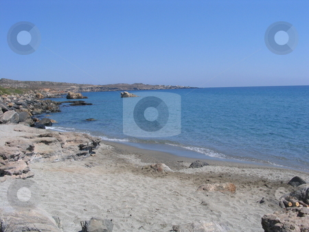 A beach close to Neapoli stock photo, In the most beautiful part of Peloponnese with the great view of Elafonisos! The place is between the small town Neapoli and the tiny village LAXI. by Christos Christodoulou