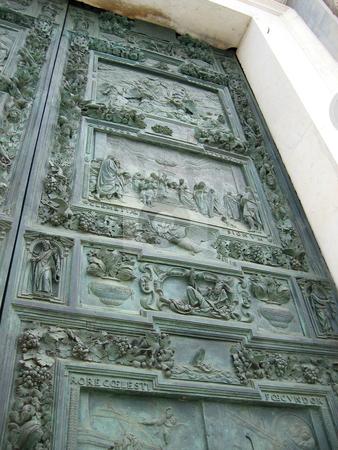 Intricate doorway stock photo,  by Wolfgang Heidasch